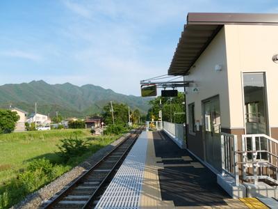 三陸鉄道リアス線払川駅
